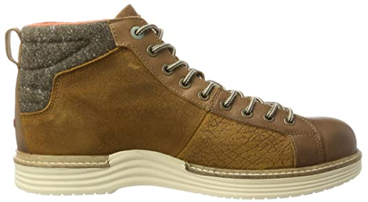 Napapijri Footwear 15841171, Bottines Classiques Homme - Marron - Marron (Dark Brown N46), 41 EU