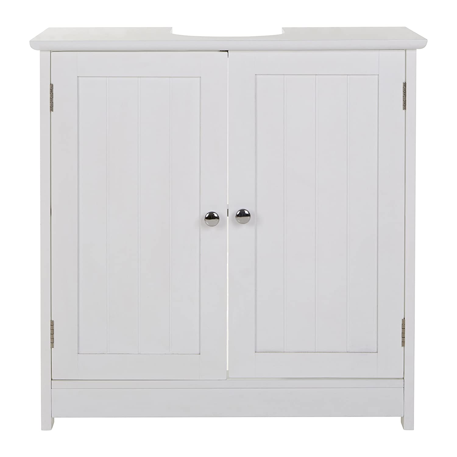 White Premier Housewares Portland Under Sink Cabinet