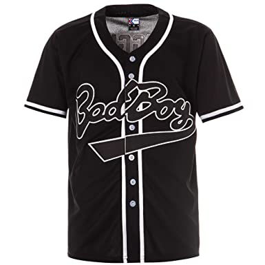 7e6eb8b2fa37 Amazon.com  MOLPE  BadBoy   10 Biggie Baseball Jersey S-XXXL Black ...