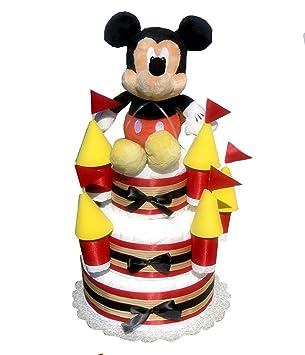 Amazon.com: Temática de Disney tarta de pañales castillo (3 ...