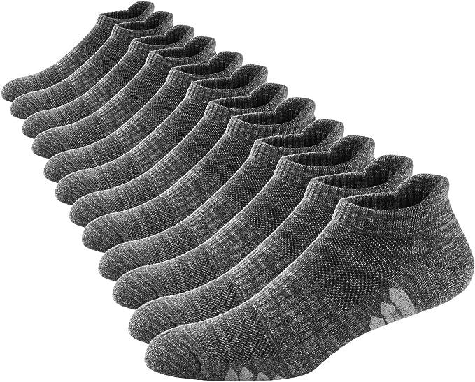 Ueither Calcetines Deportivos Cortos de Algodón para Hombre y Mujer Calcetines Tobilleros Ajuste Cómodo y Transpirables para Fitness, Running, Gimnasio y Otros Deportes: Amazon.es: Ropa y accesorios
