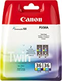 Canon CLI36 Ink Cartridge Twin Pack