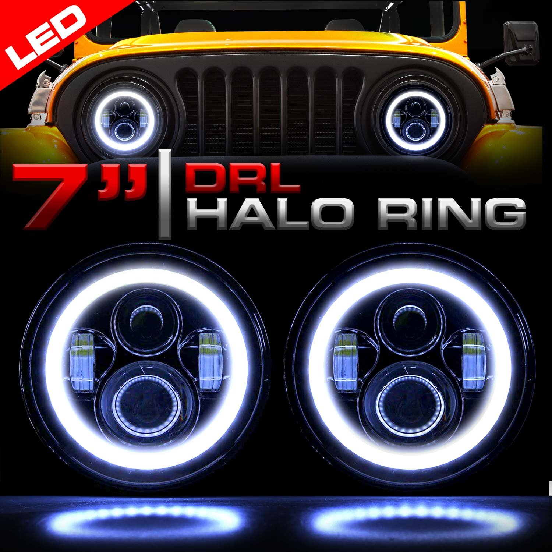 Jeep Yj Halo Headlight Wiring Diagram | Wiring Library