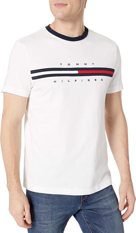 Tommy Hilfiger Men's Short Sleeve Logo T-Shirt