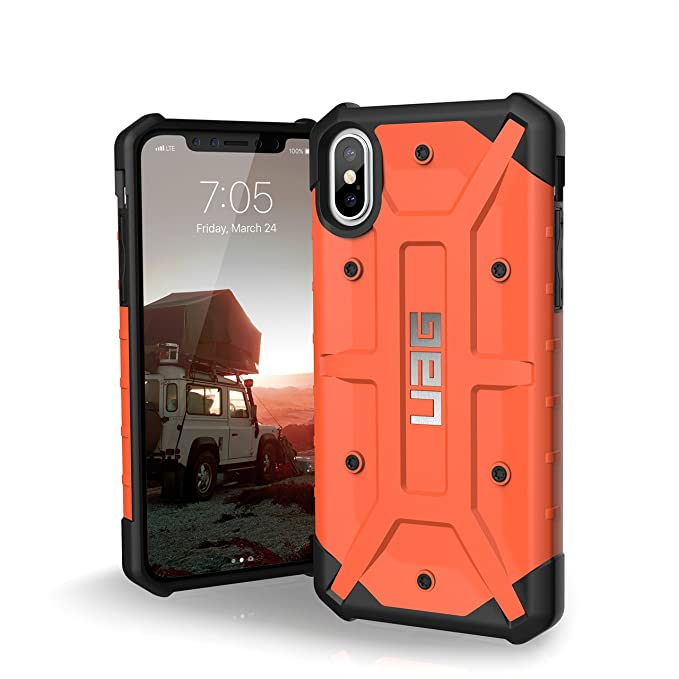 wholesale dealer e85dd c3163 URBAN ARMOR GEAR UAG iPhone Xs/X [5.8-inch screen] Pathfinder Feather-Light  Rugged [Rust] Military Drop Tested iPhone Case