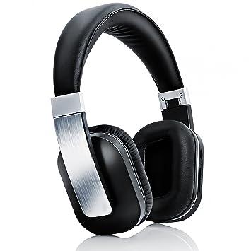 CSL - 450 auricular Bluetooth/auricular inalámbrico | batería integrada | 540 horas en reposo/14 horas en lectura/Telefonía | Design: negro: Amazon.es: ...