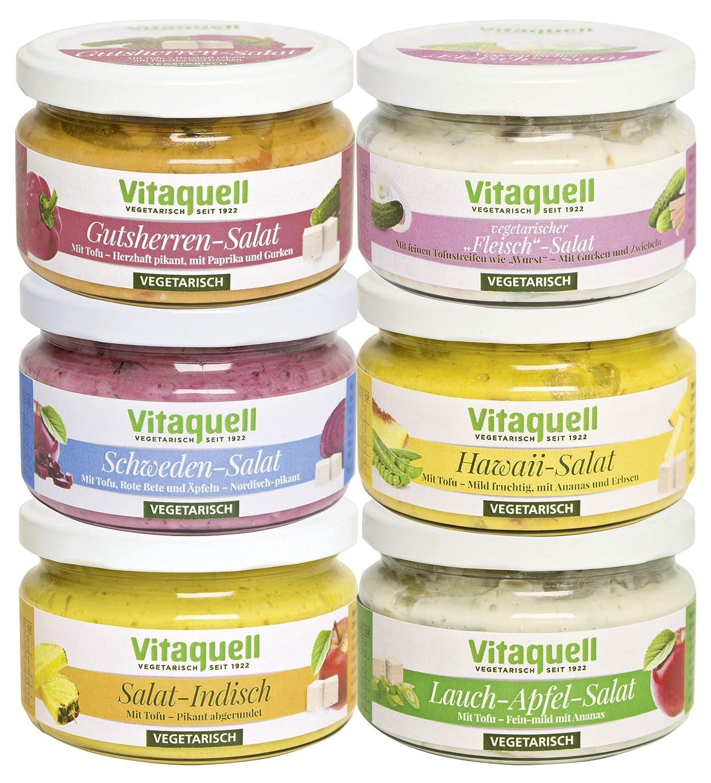 Vegan kochen - Vitaquell Vegetarische Salatkiste