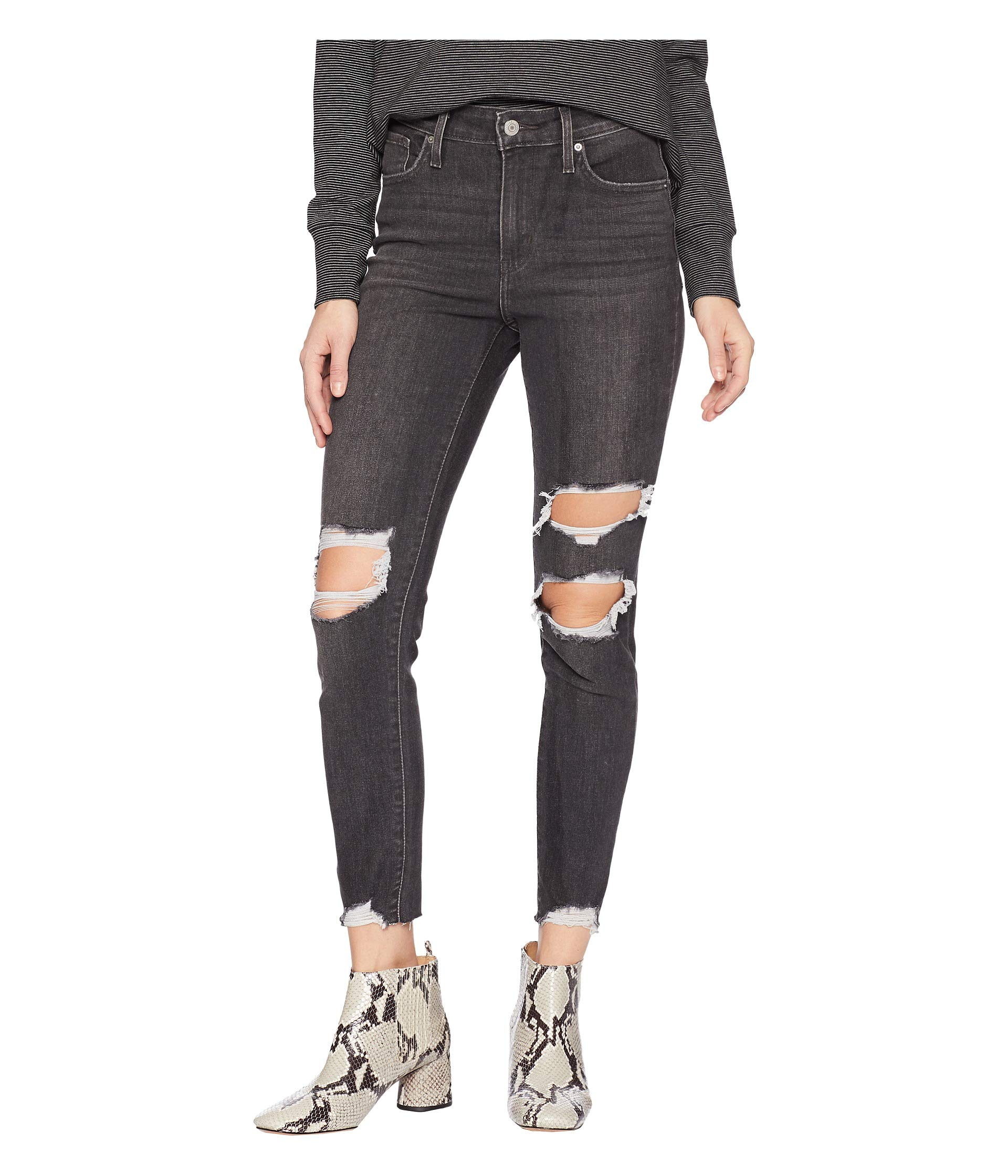 Levi's Women's 721 High Rise Skinny Jeans,  Roll