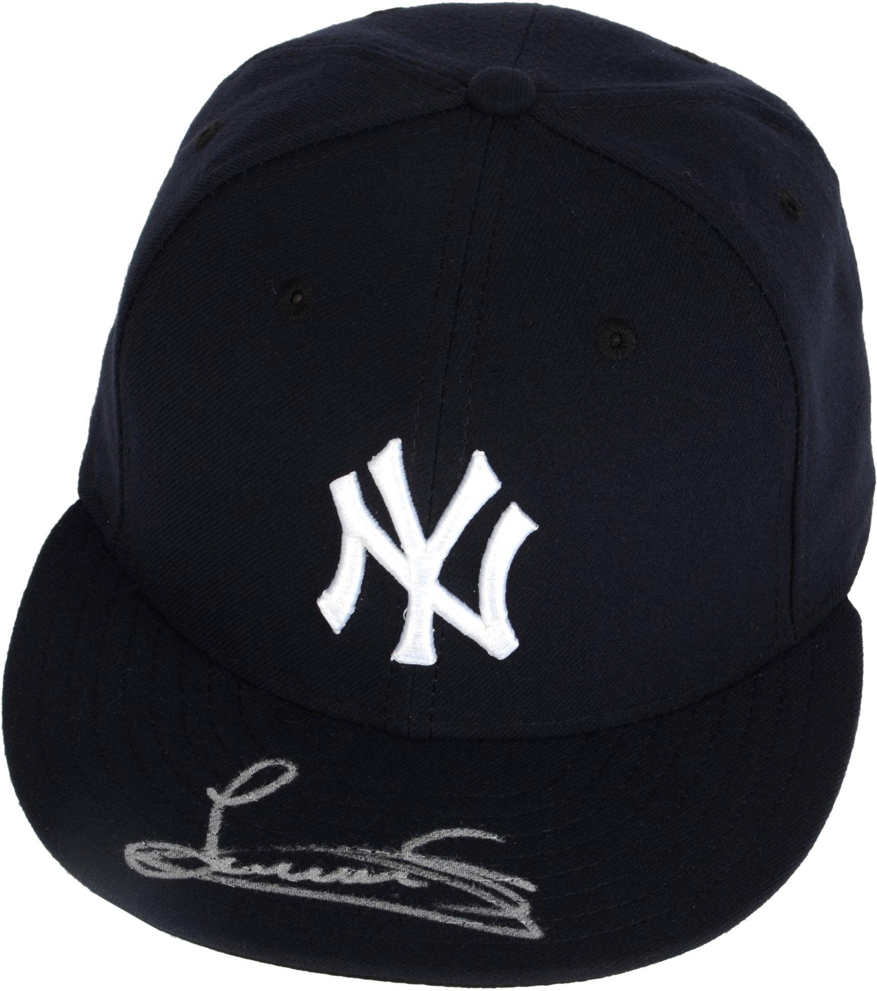 Luis Severino New York Yankees Autographed Cap Fanatics Authentic Certified Autographed Hats