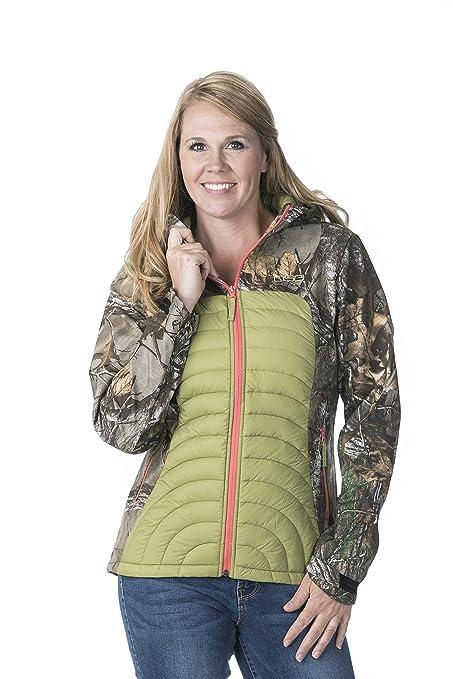 817414b63f695 Amazon.com : DSG Outerwear Camo Softshell Jacket : Sports & Outdoors