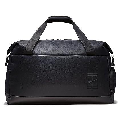 4e3e13752ccb Amazon.com   Nike Court Advantage Tennis Duffel Bag (Black)   Sports ...