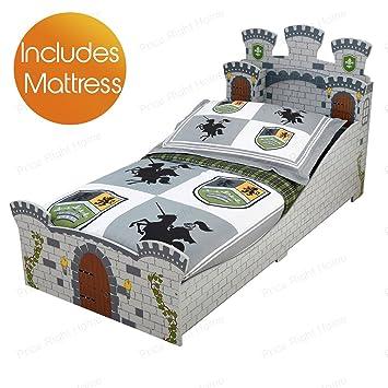 KidKraft Castillo Medieval Junior Toddler Bed + colchón Espuma: Amazon.es: Hogar