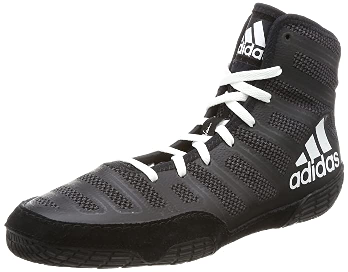 promo code 647ff a85c9 adidas Chaussures de Lutte Varner pour Hommes, Noir, 42 3