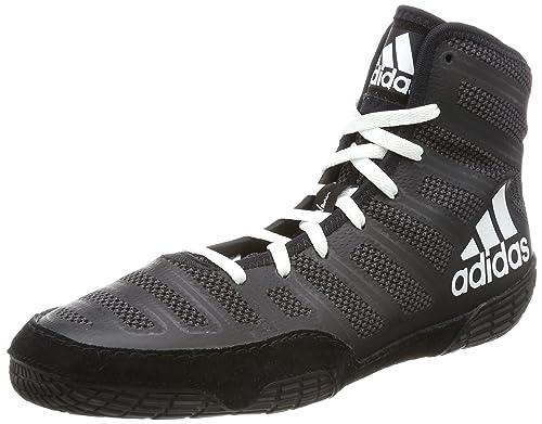 info for d173d 7a452 adidas Varner Mens Adult Wrestling Shoe Boot Black - US 7.5
