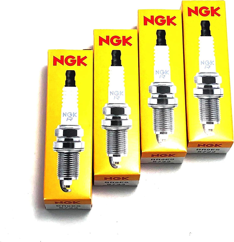 SPARKPLUG NGK BR9ES 5722 by NGK MfrPartNo BR9ES by NGK
