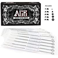 Symbol Of The Brand 50pcs Mixed Tattoo Needles 10 Sizes Round For Liner Shader Magnum 3 5 7 9 Rs Tattoo Needles, Grips & Tips Tattoos & Body Art