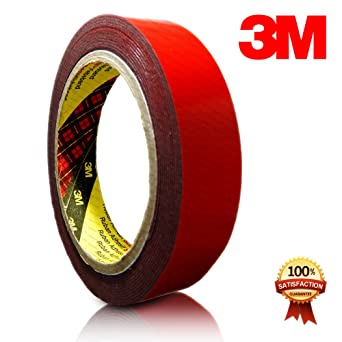 3M™ 5952 Hochleistungsklebeband Montageband doppelseitig Auto Kfz schwarz 5m