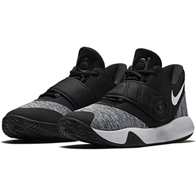 cheap for discount a2388 5a4ff Nike Kids  Preschool KD Trey 5 VI Basketball Shoes (1, Black White