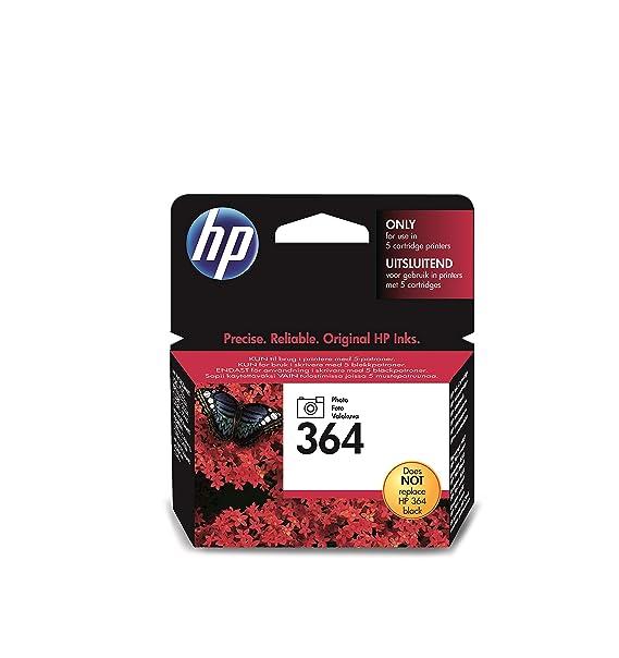 HP 364 Foto-schwarz Original Druckerpatrone für HP Deskjet 3070A, 3520; HP Photosmart 5510, 5515, 5520, 5525, 6510, 6520, 751
