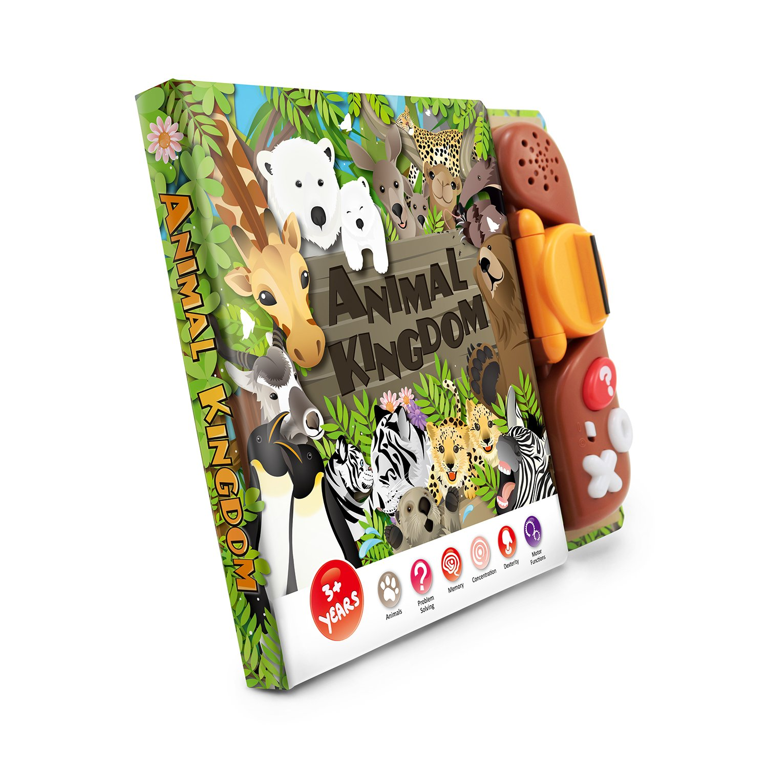 BEST LEARNING Book Reader Animal Kingdom - Educational Talking Sound Toy to Learn About Animals with Quiz Games for Kids Ages 3 to 8 Years Old by BEST LEARNING (Image #8)