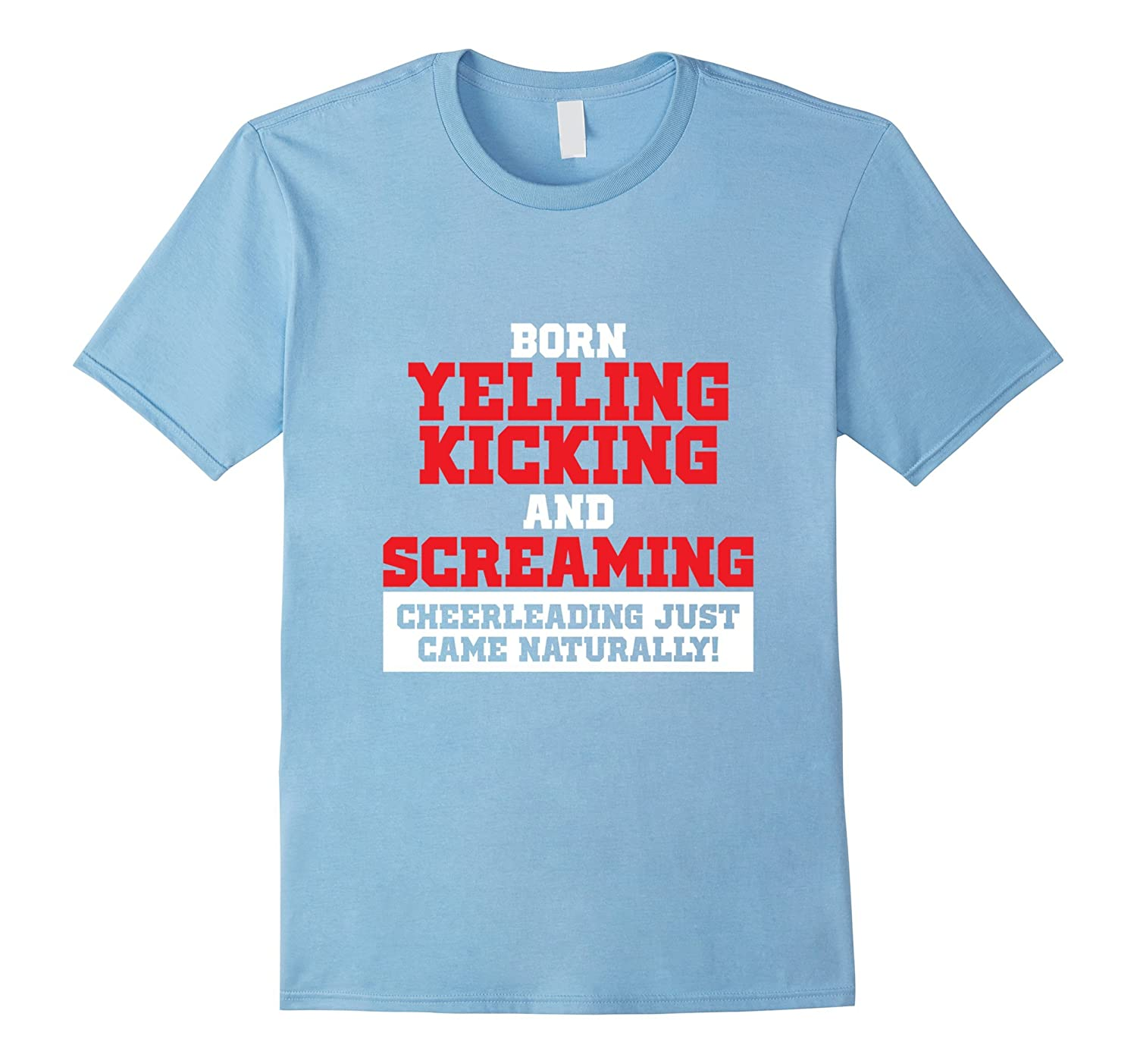 Funny Cheerleading Shirt for Girls | Cheerleading Tee-fa