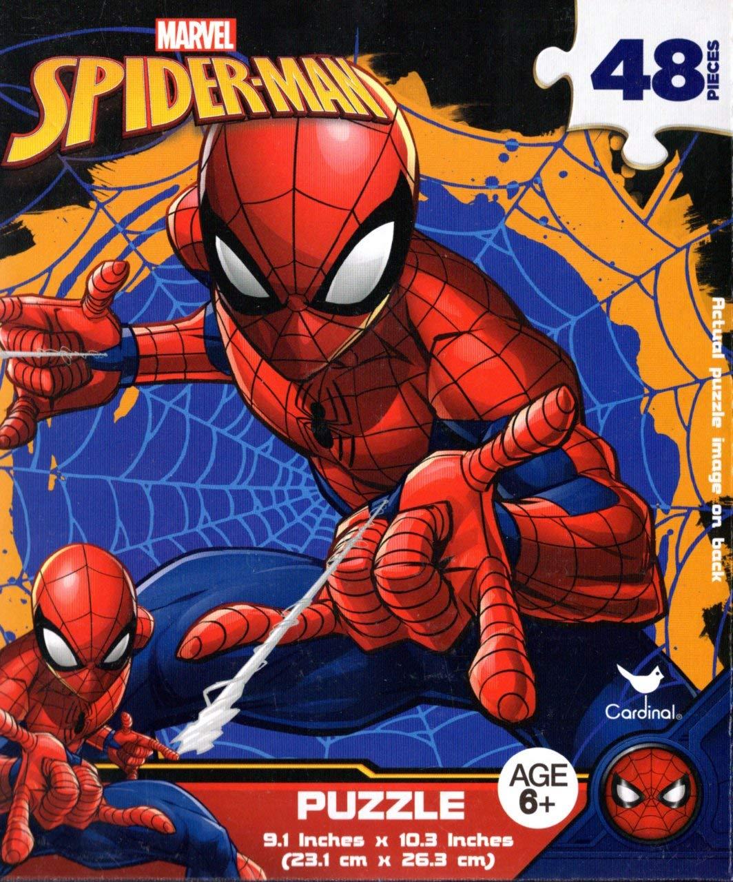 激安大特価! マーベル 48ピース スパイダーマン - - 48ピース ジグソーパズル - B07J2CGWY1 v1 B07J2CGWY1, イエソン:d428159c --- sinefi.org.br