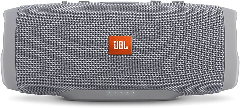 Amazon Com Jbl Charge 3 Waterproof Portable Bluetooth Speaker Gray Electronics