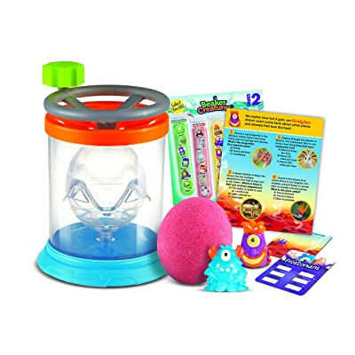 Learning Resources Beaker Creatures Whirling Wave Reactor, Homeschool, STEM, Reaction Chamber, Ages 5+: Toys & Games
