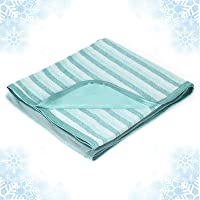 Cooling Blanket with Double Sided Cold,Lightweight Breathable Twin/Full Size Summer Blankets for Bed,Cool Tech Transfer…