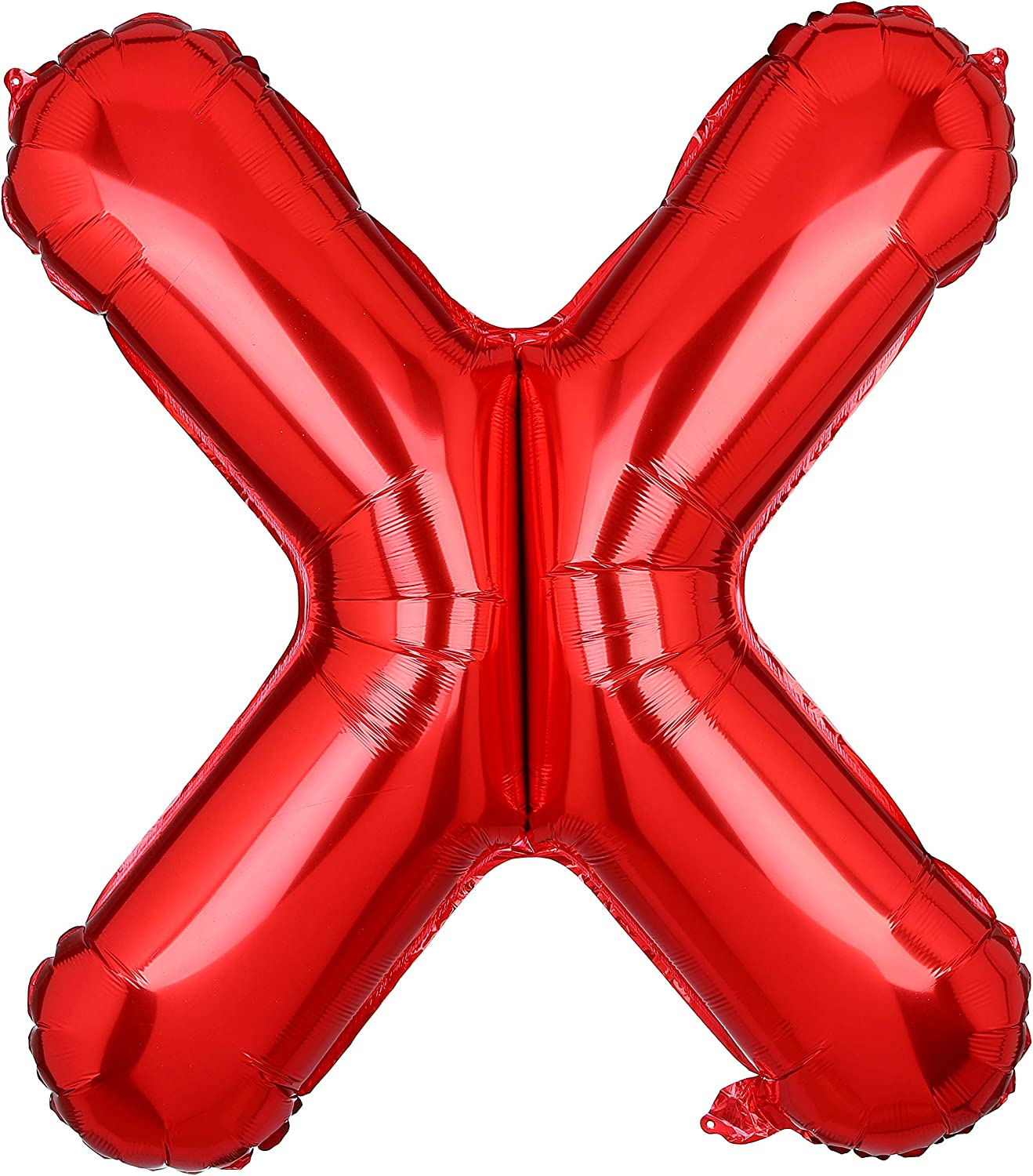40 Inch Large Letter X Foil Balloons Red Alphabet Mylar Balloon for Birthday Party Decoration Wedding Decor Girls HH(Red-X)