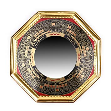 Feng Shui Spiegel amazon de traditionellen chinesischen feng shui konvex legierung