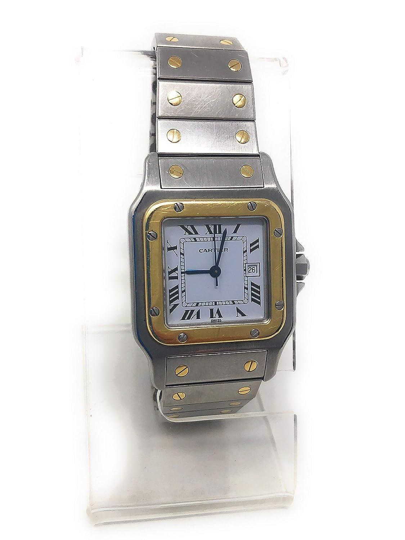 b671b56bf Amazon.com: Cartier Santos de Cartier Automatic-self-Wind Male Watch  W20058C4 (Certified Pre-Owned): Cartier: Watches