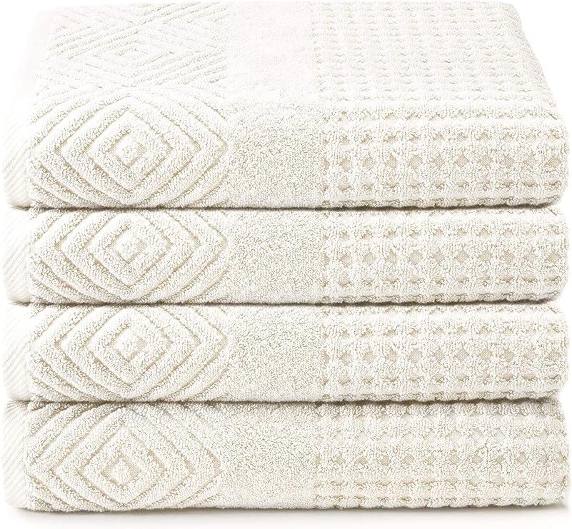 Toallas de baño de algodón orgánico – Juego de 2 Toallas de ...