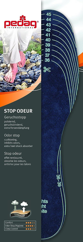 Amazon.com: Pedag Stop Plantillas de absorción de olores de ...