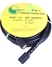 Pressure Washer Hose 1/4 inches 30 feet M22 4000psi