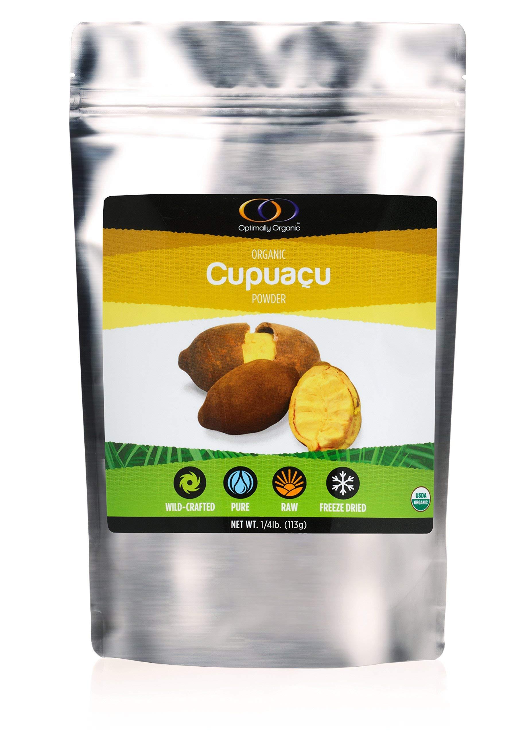 Wild-Crafted Cupuacu Powder, 1/4 Lb, All Natural, Raw, Essential Nutrients