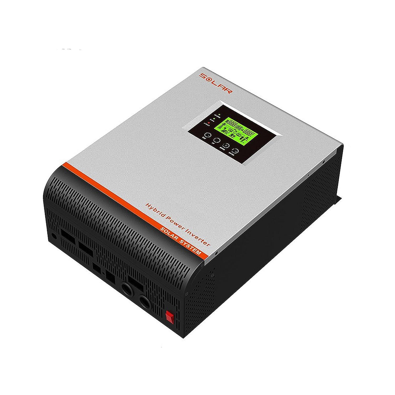 Inversor/Cargador Hibrido Onda Pura 3000VA 24V 220V: Amazon ...