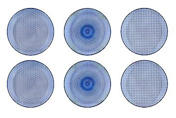 vente en magasin 70266 5b66c Bjorn Assiette Plate Ø26cm - 6 pièces - Collection Dark ...