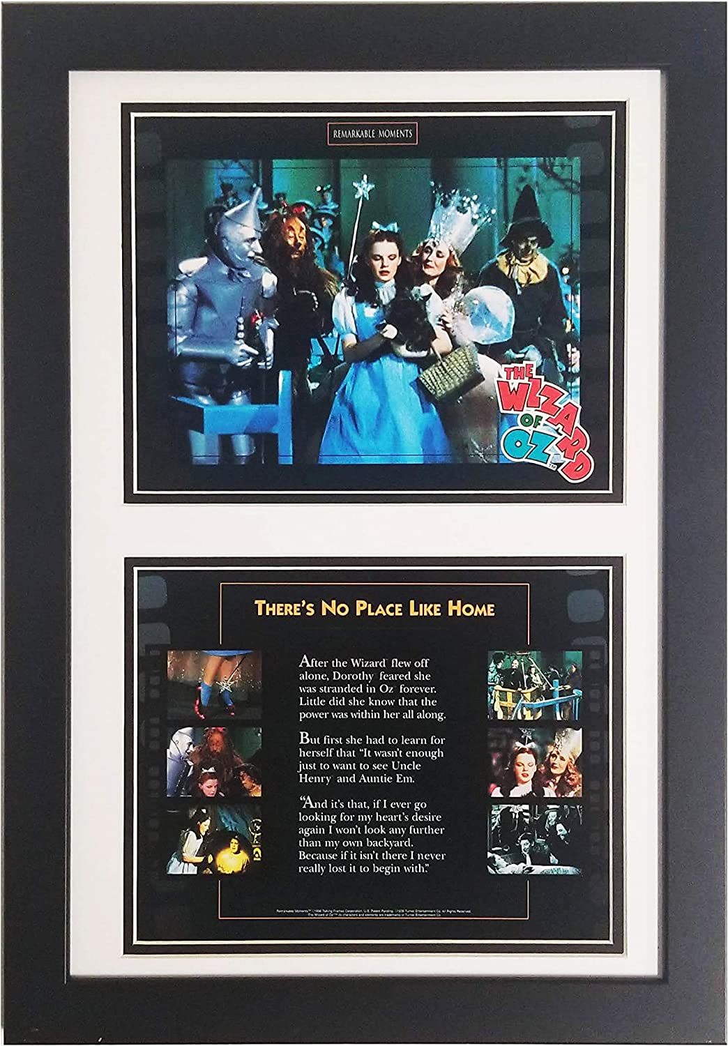 Encore Wizard of Oz No Place Like Home Double Photo 12x18 Frame Featuring Cast from Movie (No Place Like Home)