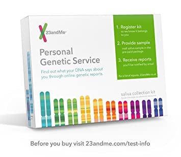 23andme dna test health ancestry personal genetic service 75 online reports