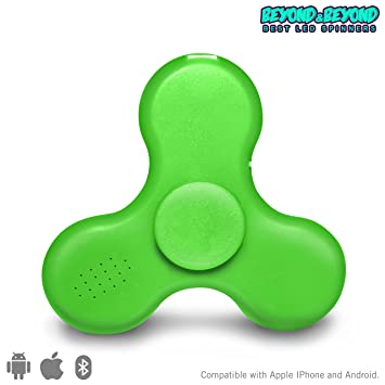Amazon Fid Spinner with Built in LED Bluetooth Speaker Hand