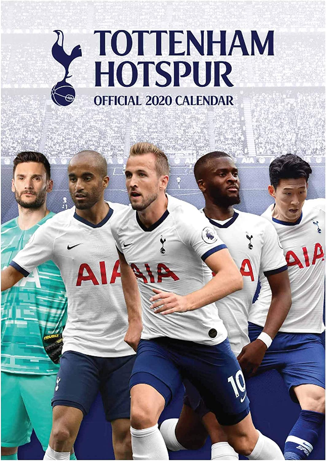 Amazon com Tottenham Hotspur Official Premier League Spurs Soccer Calendar A mm X mm Sports Outdoors