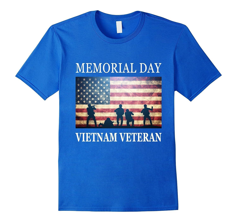 Vietnam Veteran - Memorial Day Soldiers T-Shirt-Art