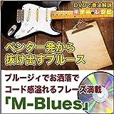【ギター教則DVD】ペンタ一発から抜け出すブルース ブルージィでお洒落でコード感溢れるフレーズ満載「M-Blues」