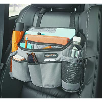 High Road Front Seat Organizer with SwingAway Handles (Gray): Home Improvement
