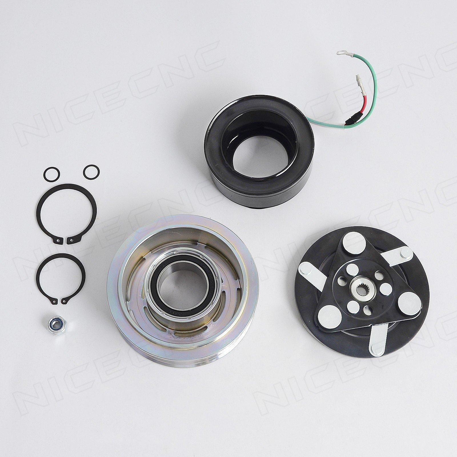 NICECNC AC A/C Compressor Clutch Repair