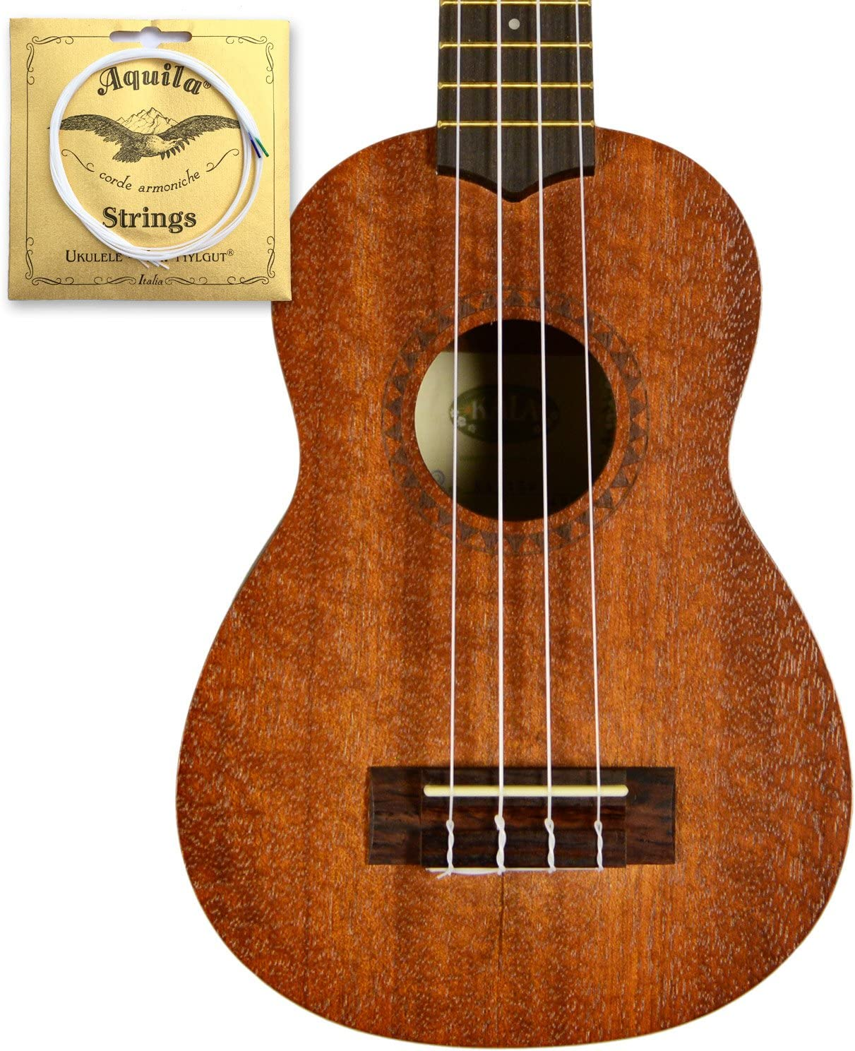 **NEW KALA KA-15S MAHOGANY SOPRANO UKULELE OUR BEST SELLER RATED #1**