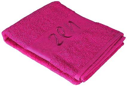 Douceur dIntérieur - Toalla de baño con bordado Zen, 100% algodón,