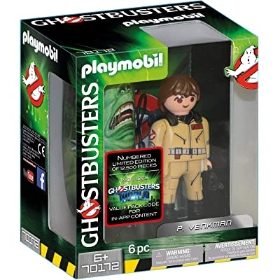 PLAYMOBIL Ghostbusters Collector's Edition P. Venkman: Toys & Games