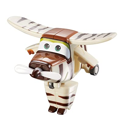 Auld eytoys yw710070 – Transform A de Bots Bello, jouets Figurine Marron